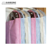 DUH High Quality Non-Woven Suit Dust Cover Medium Size 60x108cm Dust Bag Dust Cover Garment Storage Bag Home Accessories(China)