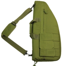 Hot Sale 70cm Shoulder Gun Case Nylon Rifle Bag Tactical Gun Handbag for Outdoor Hunting War Game Activities