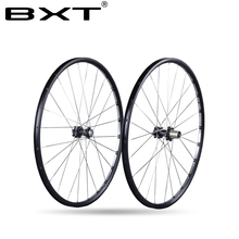 2016 Axle 142*12mm MTB Mountain Bike 27.5er 29er Six Holes Disc Brake bicycle Wheel CR 24H 11 Speed Support Alloy Rim Wheelset(China)