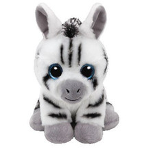 Ty Beanie Boos Big Eyes 15cm Stripes Zebra Plush Animal Christmas Birthday gift Toys for children juguetes brinquedos(China)