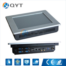 Embedded panel pc IR touch N2800 1.6GHz 10'' Infrared touch Resolution 800x600 industrial computer2GB DDR3 32G SSD(China)