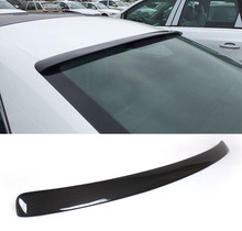 A5 Carbon Fiber Rear Roof Window Spoiler Wing For Audi A5 Coupe 2008 - 2015 (not for S-line)