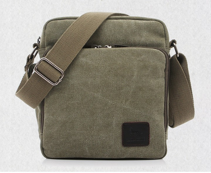 New Arrival Canvas bag man, hote sale mens small canvas shoulder bag  for documents, brand design high quality, portfolio men<br><br>Aliexpress