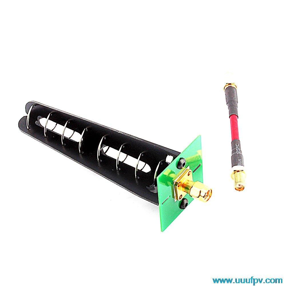1PCS FPV Aomway 5.8GHz 11dbi 7 Turn Helical circolare Polarizzazione Antenna RHCP<br><br>Aliexpress
