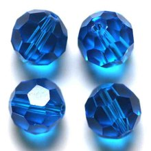 Lamp Work Glass Bead 10mm Round Shape Beads Football Wonderful Color crystal Beads for Cloth Accessories Beads(China)