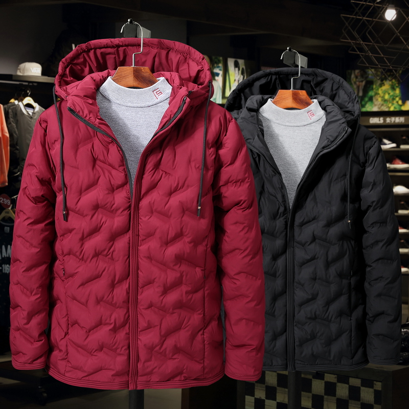 084ee3c77f9 Plus Size 2XL-9XL man Cotton Padded Jacket Autumn Winter Men Casual Thicken  Warm Windbreak Outwear Hooded Varsity Coat 1808
