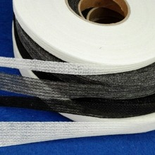 100 Meters Non-woven Fabric Fusible Single Side Adhesive Tape White or Black Interlining Cloth Lining to Prevent Transformation(China)