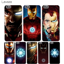 Buy Lavaza super hero Iron Man Hard Transparent Cover Case Huawei P10 P9 Lite Plus P8 Lite P7 6 G7 & Honor 8 Lite 4C 4X 7 for $1.23 in AliExpress store