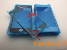 50pcs/lot Front Screen Lens Outer Glass For iPhone 6s 4.7inch Replacement Repair Part Oleophobic coating high quality AAA+
