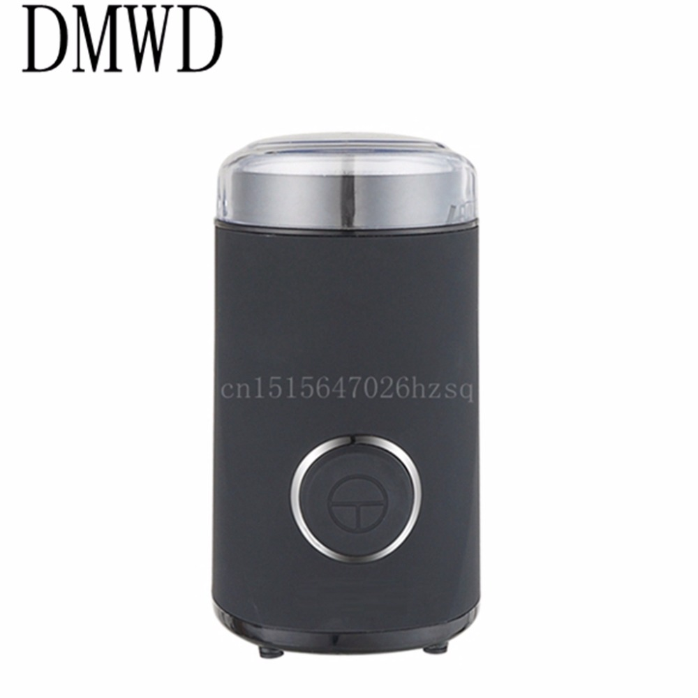 DMWD Household electric Coffee Grinder Grains seasonings Herbs Cereal powder makers kitchen helper machine<br>