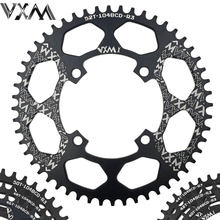 VXM Bicycle Aluminum Chainring 104BCD 40T 42T 44T 46T 48T 50T 52T Mountain Bicycle Chainwheel MTB Bike Crankset Bicycle Parts(China)