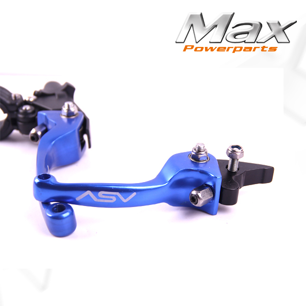 Alloy ASV F3 Series 2ND Clutch &amp; Brake Folding Lever Modify Parts Motorcycle ATV Dirt Pit Bike CRF RMZ KLX YZF Free Shipping<br><br>Aliexpress