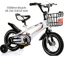 Children glowing bikes 2-3-6 baby 12 14 16 18 20 inch baby boy and girl bike(China)