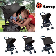1PC Sozzy Baby Stroller Rag Shade Blocks 99% UV UVB Sun Rays Cover Baby Car Awning Rain Tent Multifunctional Stroller Protection(China)