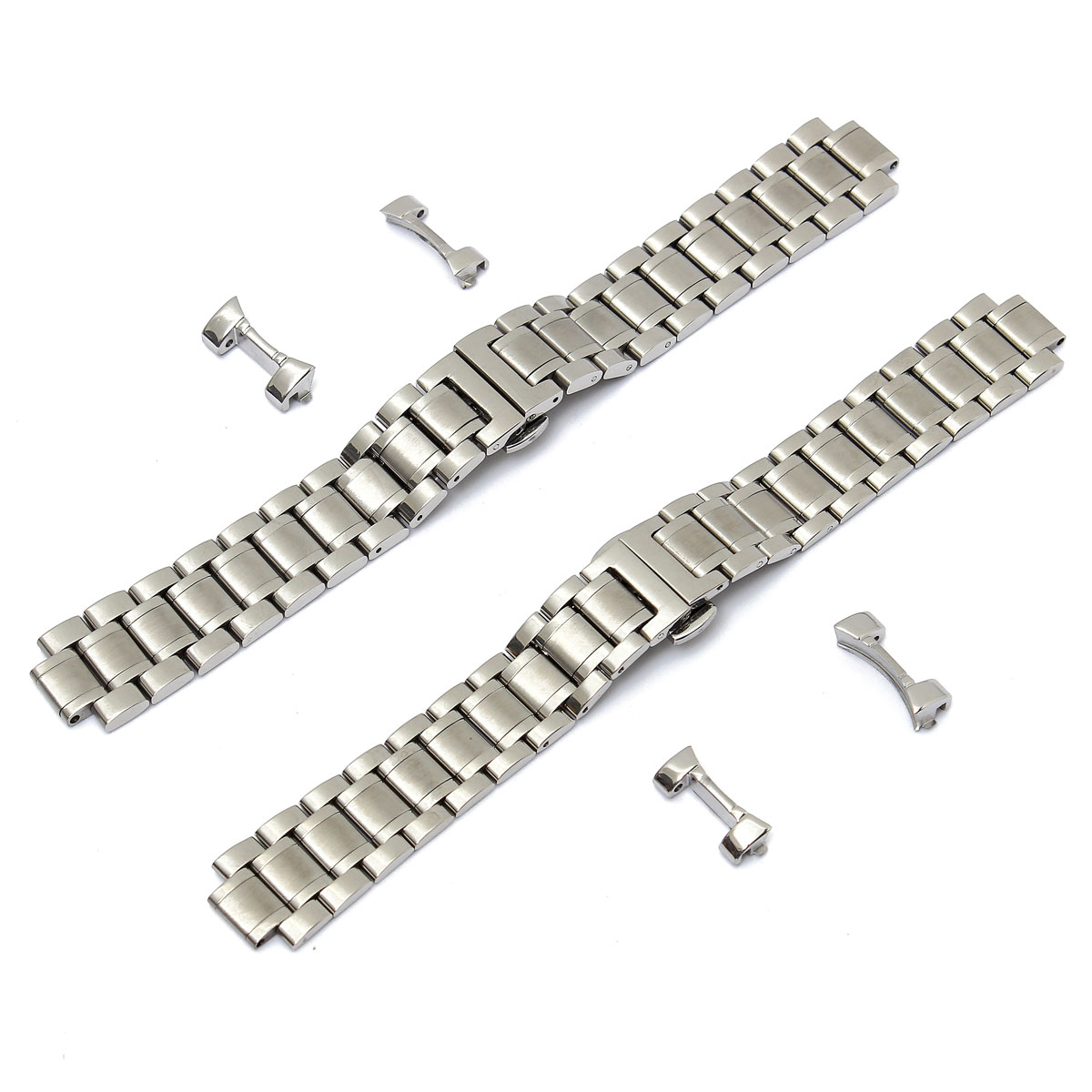 Best Promotion Sliver Watch straps 19mm/20mm Stainless Steel Watch for Band Strap Curved End Men Series<br><br>Aliexpress