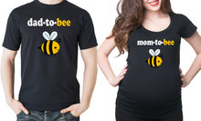 Dad to bee couple t shirt mom to bee Birth Announcement Couple tee US plus size XS-3XL