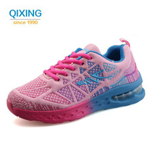 Running Shoes For Women's Sneakers Jogging Trainers Athletic Shoe Cushioning Stability Lace-up Breathable Mesh Sport Shoes women