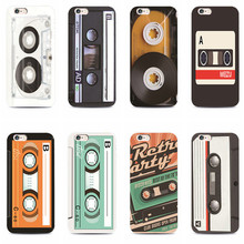 for iphone 4 4s 5 5s 5c 6 6s plus samsung galaxy S3 S4 S5 S6 S7edge Classic retro tape Hard phone case
