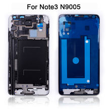Mid Middle Frame Housing Plate Bezel Cover Case For Samsung Galaxy Note 3 / note3 N9005 Replacement Parts Repair Part