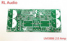 3886 amp audio circuit  lm3886 2.0  amplifier with speaker protection  2.0 amplifier PCB board only
