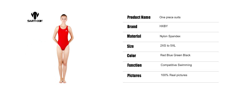 HXBY Sharkskin Professional Children Swimsuit For Girls Swimwear Women One Piece Swim Wear Women Swimming Suit Womens Swimsuits 4