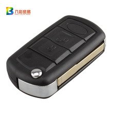 New Replacement Flip Key Remote Car Fob Thin Blade for Land Rover Range Rover with 7941chip 433mhz