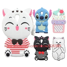 For Lenovo A536 Lord Nermal Poket Cat Stripe Ice Cream Cupcakes Stitch Hello Kitty Silicone Soft Case Cover For Lenovo A 536(China)