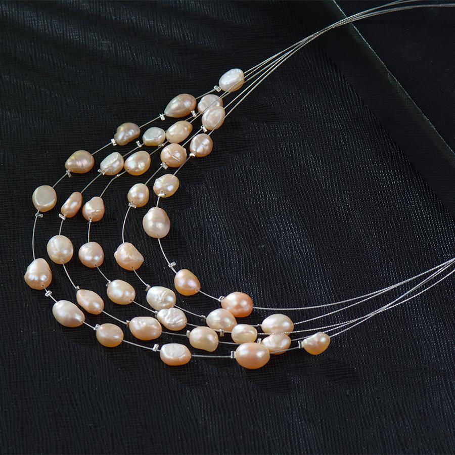 HTB1ndogRVXXXXXgXFXXq6xXFXXX8 - RAVIMOUR Simulated Pearl Jewelry Multilayer Boho Choker Necklace for Women Fashion Baroque Perlas Statement Necklaces & Pendants