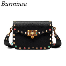 Newest Fashion Small PU Leather Crossbody Bags Women's Designer Brand Handbags High Quality Ladies Shoulder Messenger Bags 2017