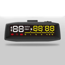 Newest 4F Car OBD2 II Manual Switch Overspeed Warning Windshield Projector Alarm System Head Up Display Car