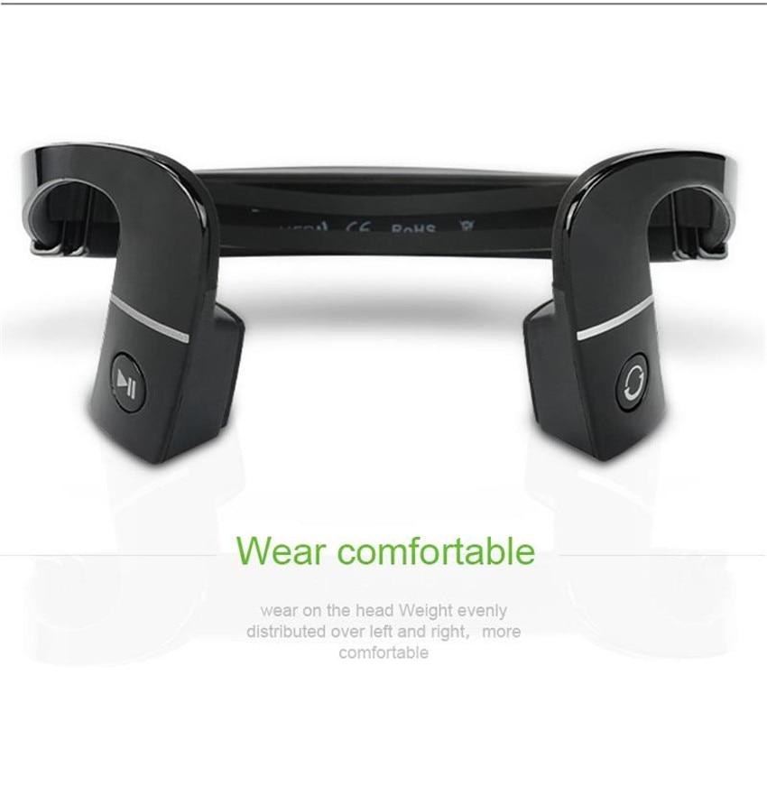 New arrival S.Wear LF-18 Wireless Bluetooth 4.1 Stereo Headset Neck-strap Headphone Bone Conduction NFC Hands-free Earphone LF18<br>