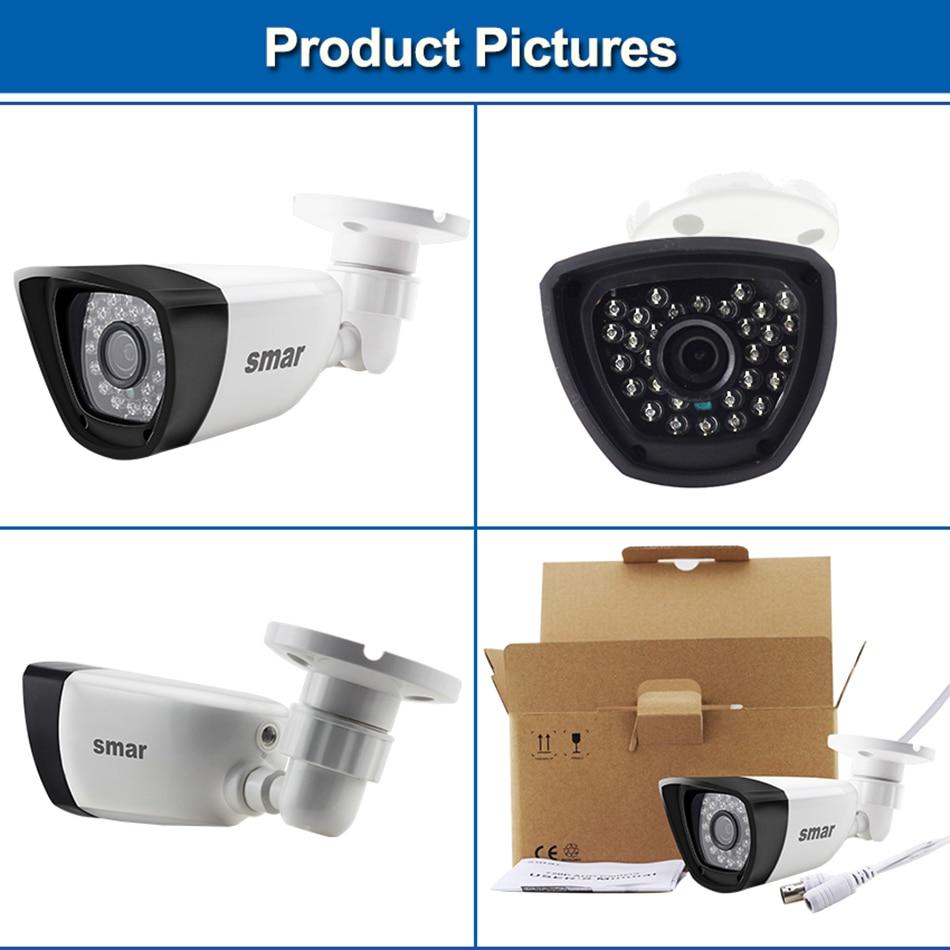 Samr AHD Camera HD 720P 1080P Surveillance Camera CCTV Bullet Outdoor Home Video Camera 30PCS Infrared LEDs IR-CUT Filter (3)