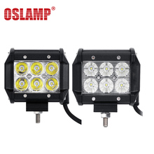 Oslamp 18W Flood Spot Beam LED Work Light Bar Offroad 12V 24V 4x4 4WD LED Fog Lamp Truck Motorcycle Boat Tractor Lamp RZR Van