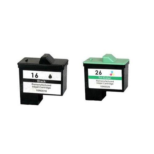 2Pcs For Lexmark 16 26 Ink Cartridge For Lexmark i3 Z13 Z23 Z25 Z33 Z35 Z513 Z515 Z603 Z605 Z611 Z615 Z617 Z645 X2250 X74<br><br>Aliexpress