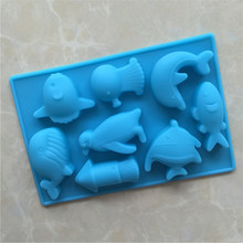 YONGHAO New fish Branch Design DIY Silicone 3D Cake Mold Fondant Decoration Mold Cake Cooking Tools  N345