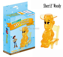 Adult Kids 3D Crystal Jigsaw Puzzle Jigsaw Model Woody: 13pcs Children's Educational Toys