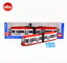SIKU/1:87 Diecast Metal Model/imulation Car:City subway Trolley bus/Educational toy for children's gift or collection/very small