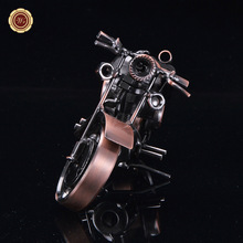 WR Adult Metal Motorcycle Pure Iron Models Motor Model Antique Car Craft Ornaments Home Office Decoration New Year Gifts