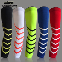1 Pcs Breathable Sports Safety Elbow Arm Warmers Pad Cycling Basketball Elastic Long Arm Sleeve Elbow Support Protector