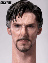 "1/6 Scale Singular Doctor Benedictine Male Head Carving Cool Male Star Head Sculpt Model Fit 12"" Action Figure Toys(China)"