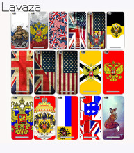 Lavaza 3212CA UK & US & Russia Flag Design Hard Case for Xiaomi Redmi 4X 4 4A Pro prime Note 4 4X 2 3S 3 Pro Mi5 Mi5s Mi6