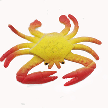 Retail Kids' Favor Grow Up Toys Animal Kingdom Crab Shape Aquarium Decoration Water Crystal Soil Free Shipping sj025