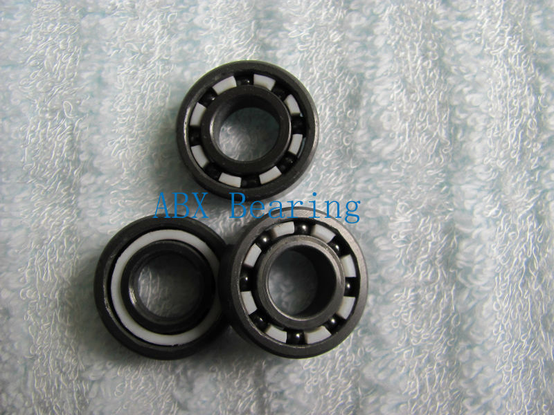 624 full SI3N4 ceramic deep groove ball bearing 4x13x5mm ABEC5 P5<br>