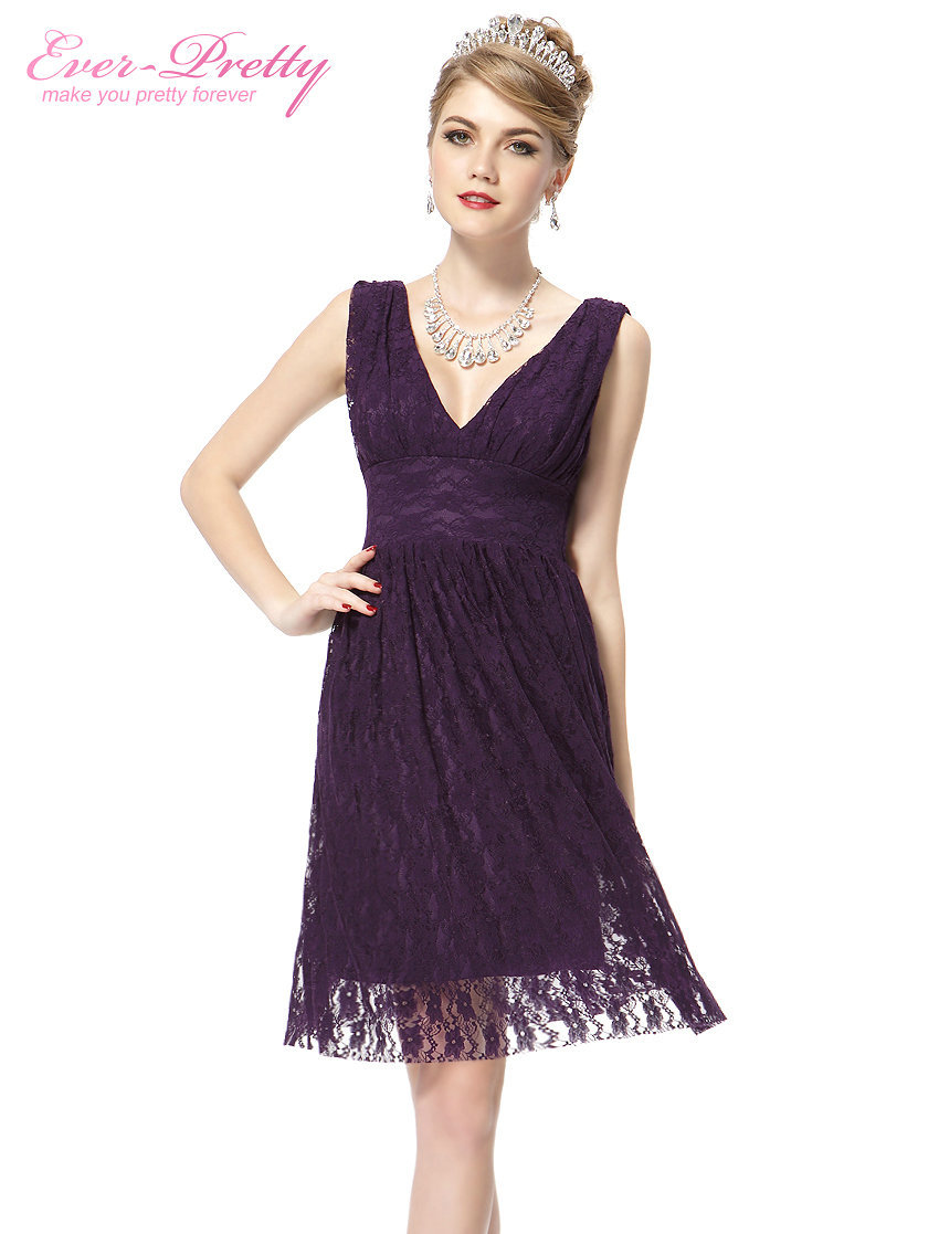 Online get cheap bridesmaid blue dress aliexpress alibaba group lace bridesmaids dresses sexy double v neck lace black purple red blue dress short he03409 ombrellifo Gallery