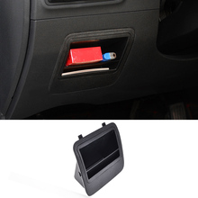 Fuse Coin Box Bin Fit For 2016 2017 Hyundai Tucson LHD Armrest Storage Tray Card Slot Glove Case Holder Car Container Organizer(China)