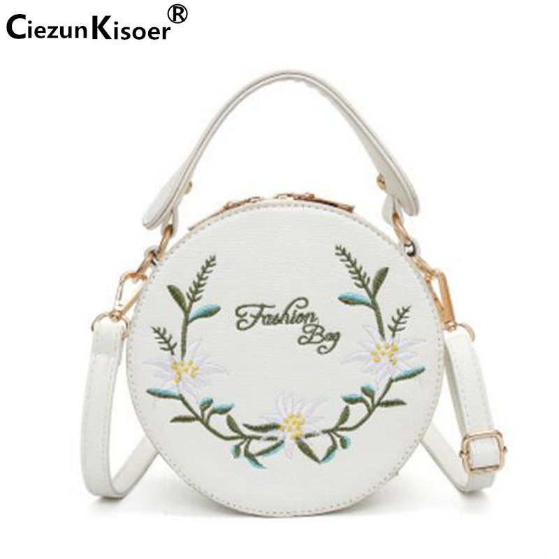 2017 Spring new womens handbag embroidered with European and American flower handbag with shoulder bag amelie galanti <br>
