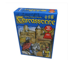 Carcassonne, English Board Game 2-5 Players Cards Game For Party/Family/Friends Easy To Play With Free Shipping
