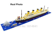 RMS Titanic Ship 3D Building Blocks Toy Titanic Boat Model brick Educational Gift Toy for Kid building bricks