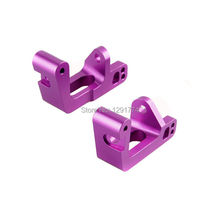 HSP 860009 Aluminum purple Wheel Hub Carrier L/R RC 1:8 Buggy Truck Upgrade Part