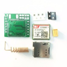 DIY SIM800C GPRS GSM Module MicroSIM Card Core Board Quad-band TTL Serial Port (Compatible SIM800L SIM900A)